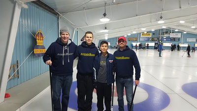 Photo of Alliance Roofing sponsoring 5th Annual Curling for Kids Winter Bonspiel