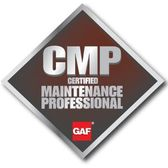 GAF Certified Professional Maintenance Professional Logo